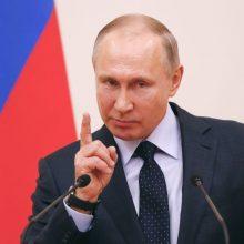 V. Putinas  neigia esąs Konstitucijos pataisų autorius