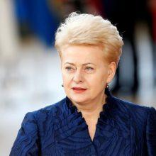 D. Grybauskaitė ragina Vyriausybę nepasiduoti populizmui