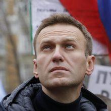 Rusijos kalėjimų tarnyba: A. Navalnas perkeliamas į ligoninę