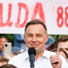 Lenkijos Aukščiausiasis teismas: prezidento rinkimų rezultatai yra teisėti