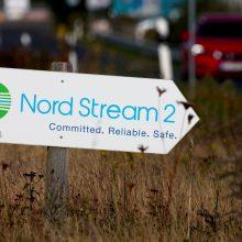 """Vokietija leido šalies vandenyse pradėti """"Nord Stream 2"""" dujotiekio atkarpos tiesimo darbus"""
