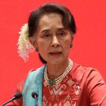 Nušalintas Mianmaro parlamentas formuoja šešėlinę vyriausybę