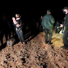 Latvijos ir Baltarusijos sieną nelegaliai kirsti bandė 101 žmogus