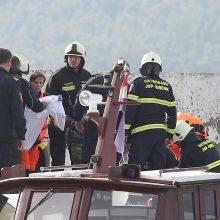 Kroatijoje sudužus kariniam sraigtasparniui žuvo pilotas