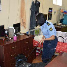 Per kratą Marijampolės pataisos namuose pareigūnai įtaria vėl radę narkotikų