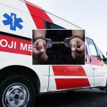 Anykščiuose sulaikytas sunkiai apgirtęs greitosios medicinos pagalbos vairuotojas