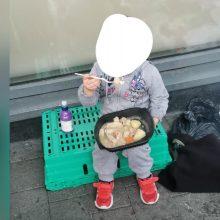 Ketverių metų benamė iš Dublino sukrėtė visuomenę