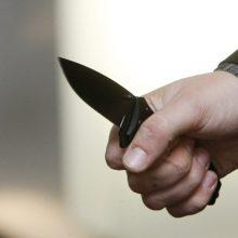 Varėnoje neblaivus ir dviem peiliais ginkluotas vyras puolė policijos pareigūnus