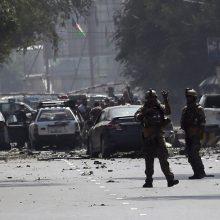Afganistano sostinėje netoli ambasadų rajono sprogo galinga bomba