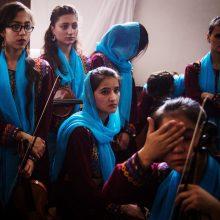 Slovakijoje dingo keturios Afganistano moterų orkestro narės