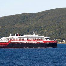 Norvegijos kruiziniame laive kilo koronaviruso protrūkis