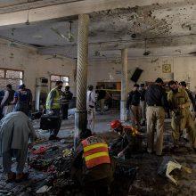 Pakistane per sprogimą religinėje mokykloje žuvo mažiausiai septyni žmonės