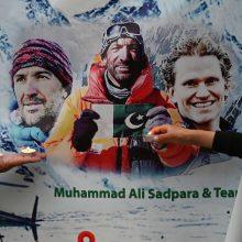 Ant Pakistano viršukalnės K2 pastebėti vasarį dingusių trijų alpinistų kūnai