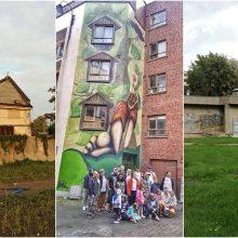 Tarptautinis projektas: menininkai ir miestiečiai spalvins Kauną