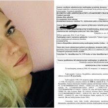 B. Navickaitė gavo baudą už neapdraustą automobilį: viskas būtų gerai, bet nevairuoju