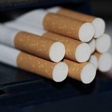 Už 35 tūkst. kontrabandines cigaretes pirkusiai moteriai skirta bauda