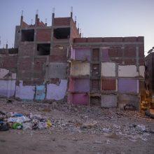 Egipto sostinėje sugriuvus daugiabučiui žuvo vienas žmogus