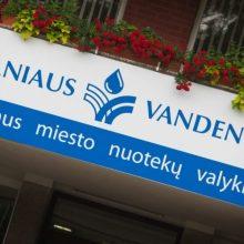 """Teismas perpus iki 3 mln. eurų sumažino baudą """"Vilniaus vandenims"""""""