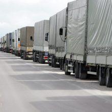 Ministerija siūlo gerinti vairuotojų darbo sąlygas