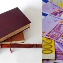 Bus teisiami beveik 400 tūkst. eurų mokesčių nuslėpimu kaltinami grupės nariai