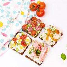 Idėjos sveikesniems užkandžiams: gardžių sumuštinių receptai