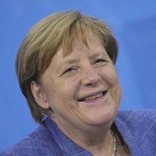J. Bidenas liepos 15-ąją Baltuosiuose rūmuose priims A. Merkel