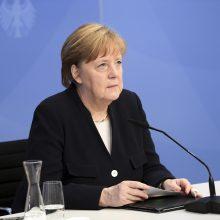 """A. Merkel: kovojant su klimato kaita dėl ateities kartų reikia """"padaryti daugiau"""""""