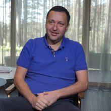 Gerokai sulieknėjęs verslininkas A. Guoga: politikoje buvo daug streso
