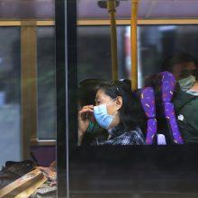 Šandongo provincijoje ir Šanchajuje stabdomos kelionės tolimųjų reisų autobusais
