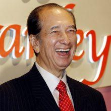 Būdamas 98 metų mirė Honkonge gimęs lošimų verslo magnatas S. Ho