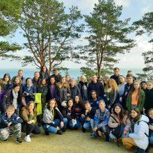 """Erasmus + projektas """"ICT-YES!"""" – pažintis su Europos kultūros  paveldu"""