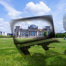 Vokietijos lyderių kompiuterių saugumą testuoja pajacas iš rusų žvalgybos?