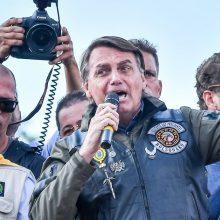 Neskiepytas Brazilijos prezidentas vyks į JT Generalinės Asamblėjos sesiją