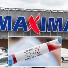 """Koronavirusas nustatytas penkiems skirtingų """"Maximos"""" parduotuvių darbuotojams"""