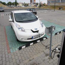 Aplinkai draugiškų transporto priemonių parkas: galvų dar neskauda, bet iššūkiai artėja