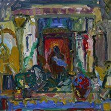 V. K. Jonyno namuose-galerijoje – I. Mikuličiūtės-Mikos tapybos paroda