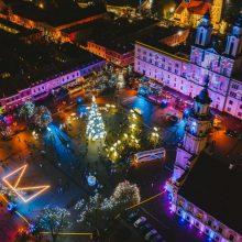 Kalėdinės melodijos ant ratų nukeliavo pas tūkstančius žmonių Kaune ir Kauno rajone