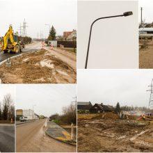 Apie rekonstruojamą Kalvarijos gatvę: kai kurie suabejoja, ar čia išvis yra kelias
