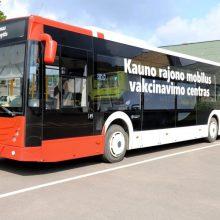 Kur Kauno rajone rugpjūčio 24–28 dienomis lankysis skiepų autobusas?