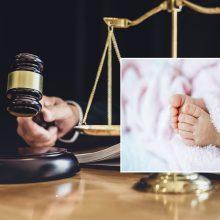 Kūdikį laiptinėje palikusiai motinai – dveji metai laisvės apribojimo