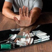 Narkotikų rinka prisitaiko prie koronaviruso pandemijos apribojimų