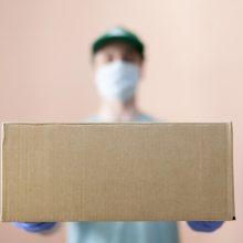 Floridoje pavogta ligoninėms skirtų 1 mln. dolerių vertės pirštinių siunta