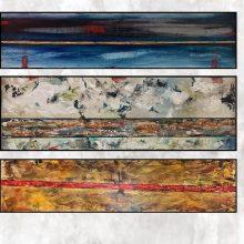 N. Vaitkaus tapybos parodoje – miestas, kokį jį geba matyti ne visi