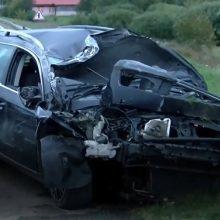 Per avariją Vilniaus rajone girtas vairuotojas neteko sąmonės