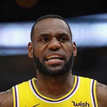 L. Jamesas  lyderio poziciją prarado ir ESPN sudarytame geriausių žaidėjų sąraše