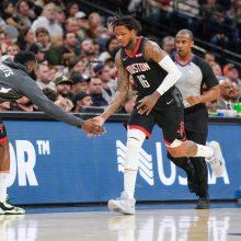 """""""Rockets"""" parklupdė NBA čempionus: atrado netikėtą lyderį"""