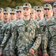 Lietuvos karo akademijoje mokslus pradėjo per 220 kariūnų