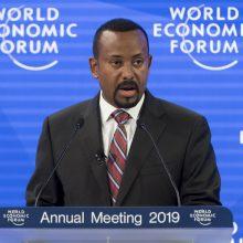 Nobelio taikos premija paskirta Etiopijos premjerui