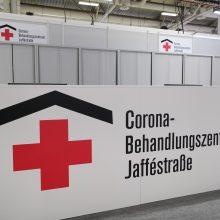 Vokietijoje koronavirusu užsikrėtė daugiau kaip 20,4 tūkst. medikų