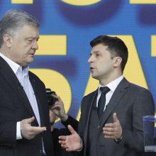 Buvęs Ukrainos prezidentas kaltina V. Zelenskį persekiojant jį iš keršto
